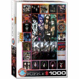 EuroGraphics KISS The Albums 1000 bitar
