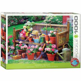 EuroGraphics Garden Bench 1000 bitar