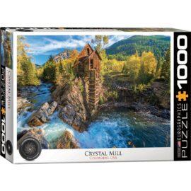 eller den gamla kvarnen, är ett kraftverk från 1892 som ligger på en utsprång ovanför Crystal River i Crystal, Colorado, USA