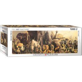 EuroGraphics Fine Art Pussel Panorama Noah's Ark 1000 bitar