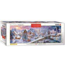 EuroGraphics Fine Art Pussel Panorama Holiday at the Seaside 1000 bitar