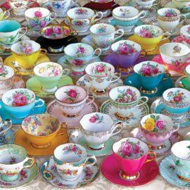 EuroGraphics Pussel Tea Cup Party Tin 1000 bitar