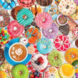 EuroGraphics Pussel Donut Party Tin 1000 bitar