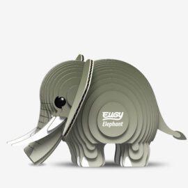 113818 EUGY Pussel i 3D Elefant
