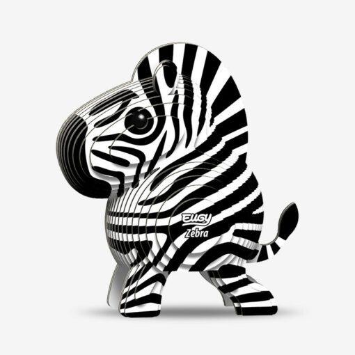 113818 EUGY Pussel i 3D Zebra