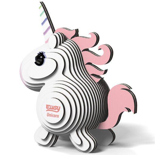 113822 EUGY Pussel i 3D Unicorn