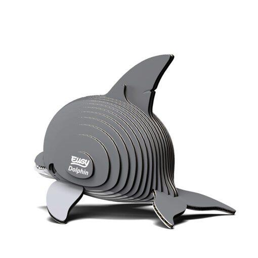 EUGY Pussel i 3D Delfin