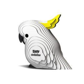 EUGY Pussel i 3D Kakadua
