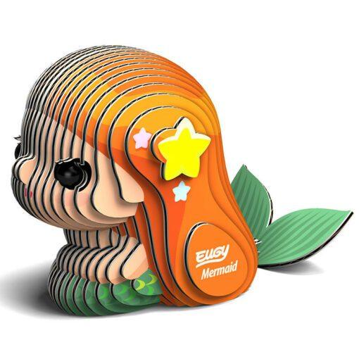 EUGY Pussel i 3D Sjöjungfru