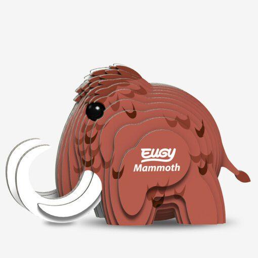EUGY Pussel i 3D Mammut