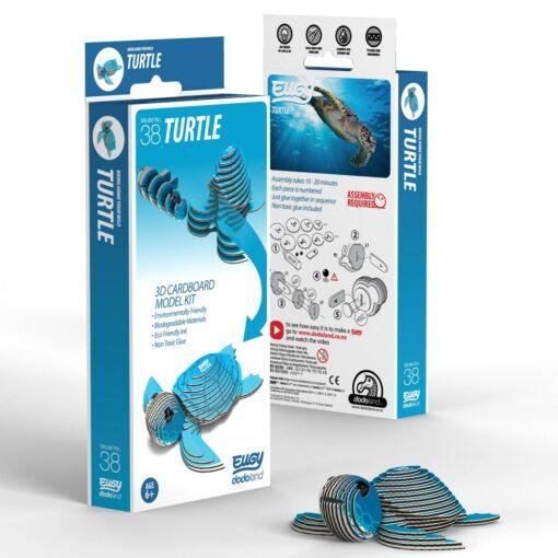 EUGY Pussel i 3D Havssköldpadda
