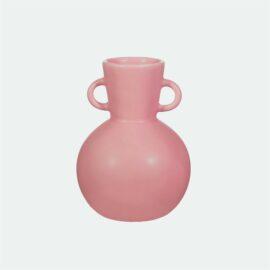 113851 Sass & Belle Vas Stengods Amphora Rosa Bubbelgum - Maximalism Collection8