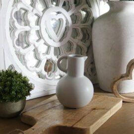 Sass & Belle Vas och Tillbringare Amfora Grå