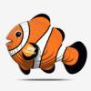 EUGY Pussel i 3D Clown Fisk
