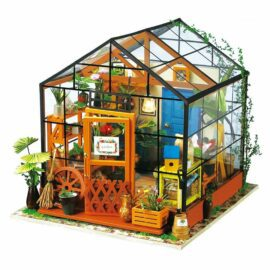 DIY Miniatyrhus, Växthus Cathy's Flower house