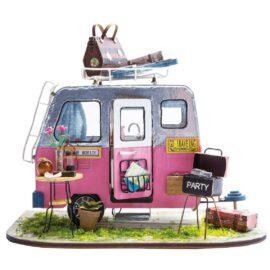 DIY-Byggsats Miniatyrrum, Husvagn Happy Camper