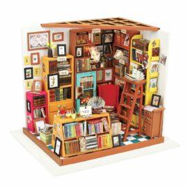 DIY-Byggsats Miniatyrrum, Bokhandel Sam's Study