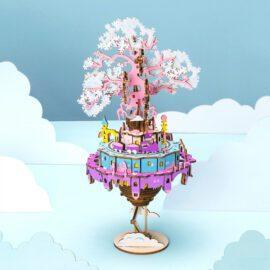 3D-byggsats City in The Sky med Inbyggd Speldosa