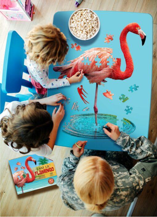 Madd Capp Pussel Kontur I Am LiL' Flamingo 100 bitar