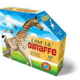 Madd Capp Pussel Kontur I Am LiL' Giraffe 100 bitar