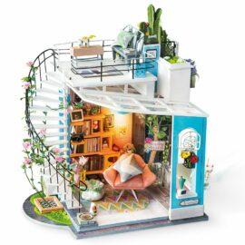 DIY-Byggsats Miniatyrrum Dora's Loft