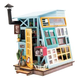 DIY-Byggsats Miniatyrrum Träkoja, Wooden Hut