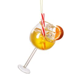 Sass & Belle Julgranskula i Glas Aperol Spritz